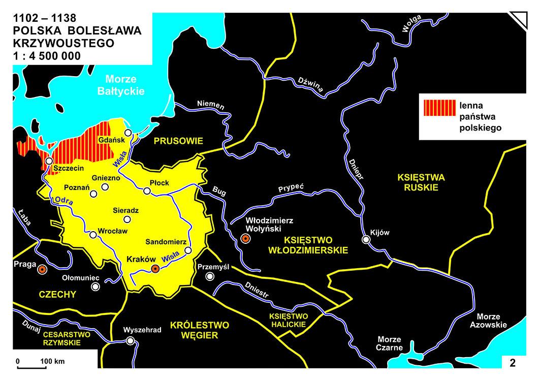 KOLOR_02_1102-1138_POLSKA BOLESŁAWA KRZYWOUSTEGO